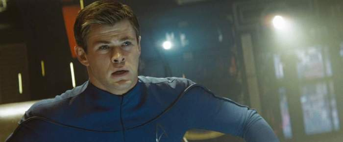 Chris Hemsworth in Star Trek