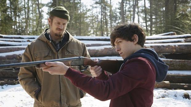 Joel Kinnaman & Tom Holland in Edge of Winter