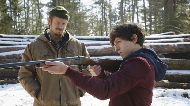 Joel Kinnaman & Tom Holland in Edge of Winter