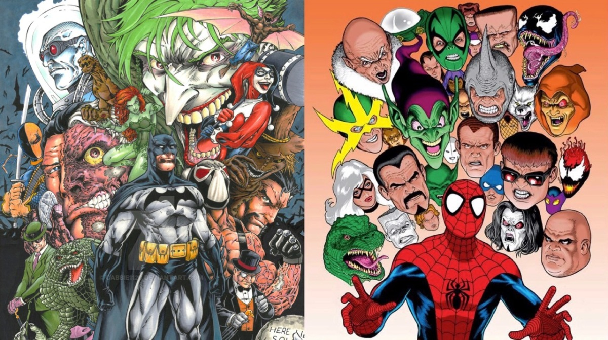 Showdown Sunday #45: Batman vs. Spider-Man (Rogues Gallery)