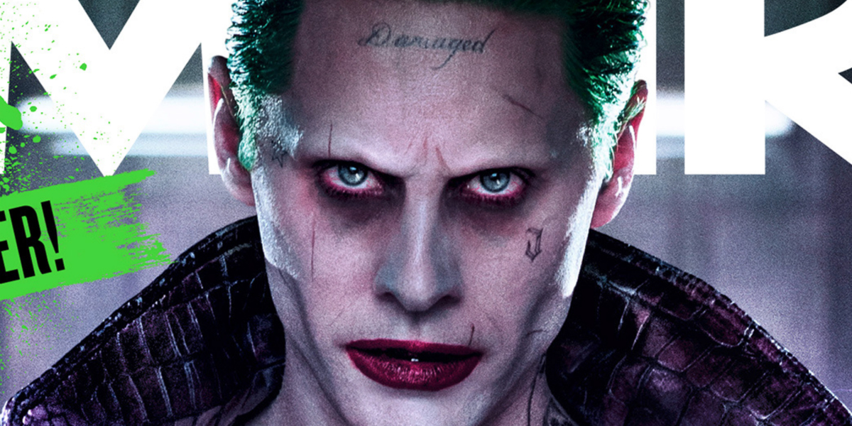 Jared leto s joker must win audiences over before for Suicide squad face tattoo