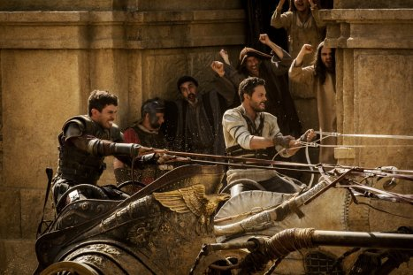 Toby Kebbell & Jack Huston in Ben-Hur (2016)
