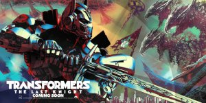 Transformers: The Last Knight Banner