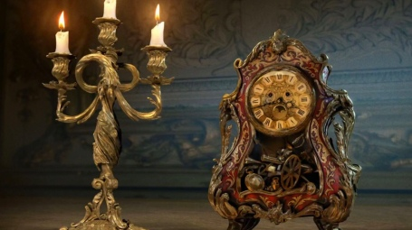 Lumiere & Cogsworth for Beauty and the Beast