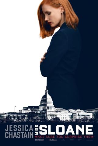 Miss Sloane Teaser Poster