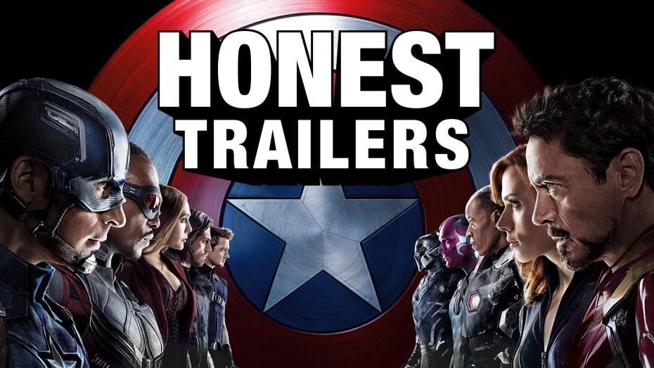 Captain America: Civil War Honest Trailer