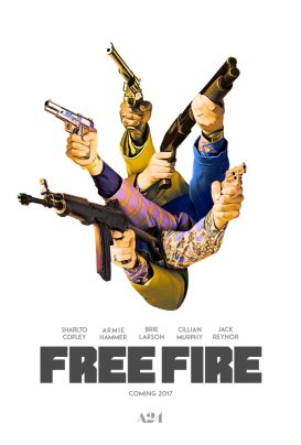 Free Fire Teaser Poster
