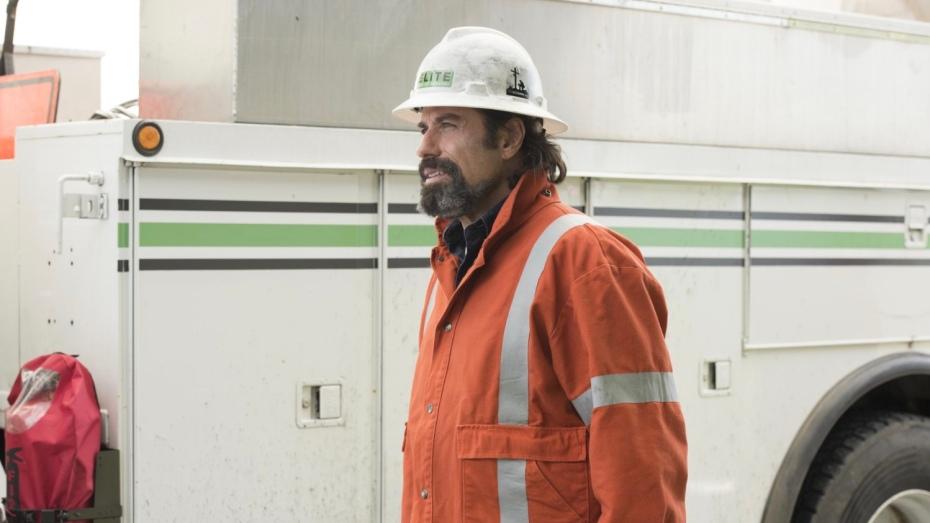 John Travolta in Life on the Line