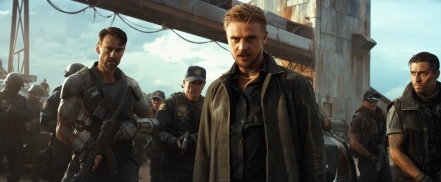 Boyd Holbrook in Logan