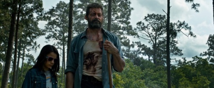 Dane Keen & Hugh Jackman in Logan
