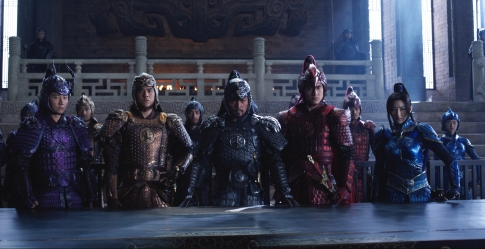 Cast of The Great Wall
