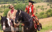 Josh Gad & Luke Evans in Beauty and the Beast