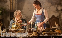 Kevin Kline & Emma Watson in Beauty and the Beast