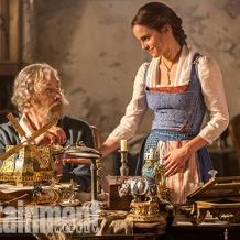 Kevin Kline & Emma Watson in Beauty and the Beast