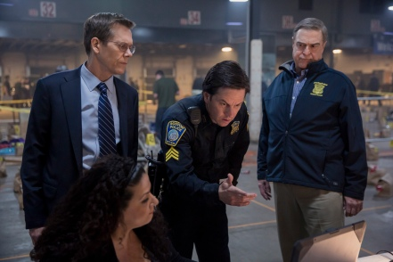 Kevin Bacon, Mark Wahlberg & John Goodman in Patriots Day