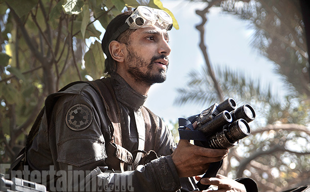 Riz Ahmen in Rogue One: A Star Wars Story