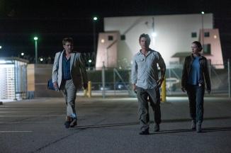 Benicia Del Toro, Josh Brolin & Emily Blunt in Sicario