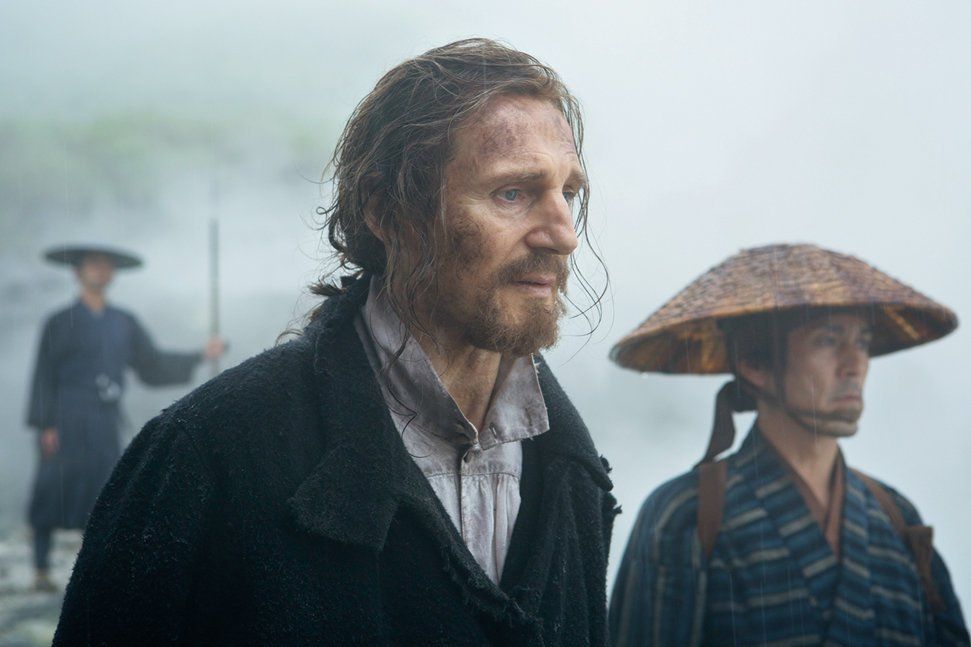 Liam Neeson in Silence – APOCAFLIX! MOVIES