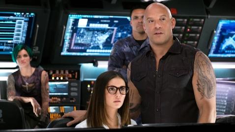 Ruby Rose, Nina Dobrev, Tony Gonzalez & Vin Diesel in xXx: RETURN OF XANDER CAGE
