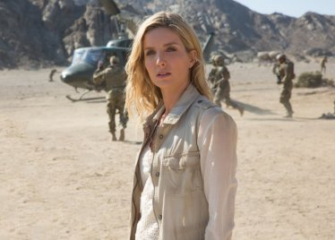 Annabelle Wallis in The Mummy