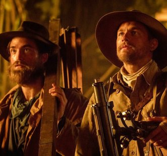 Robert Pattinson & Charlie Hunnam in The Lost City of Z