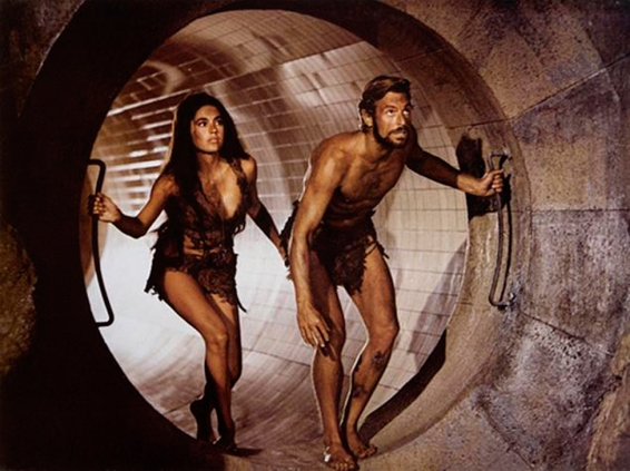 Linda Harrison & Charlton Henson in Beneath the Planet of the Apes