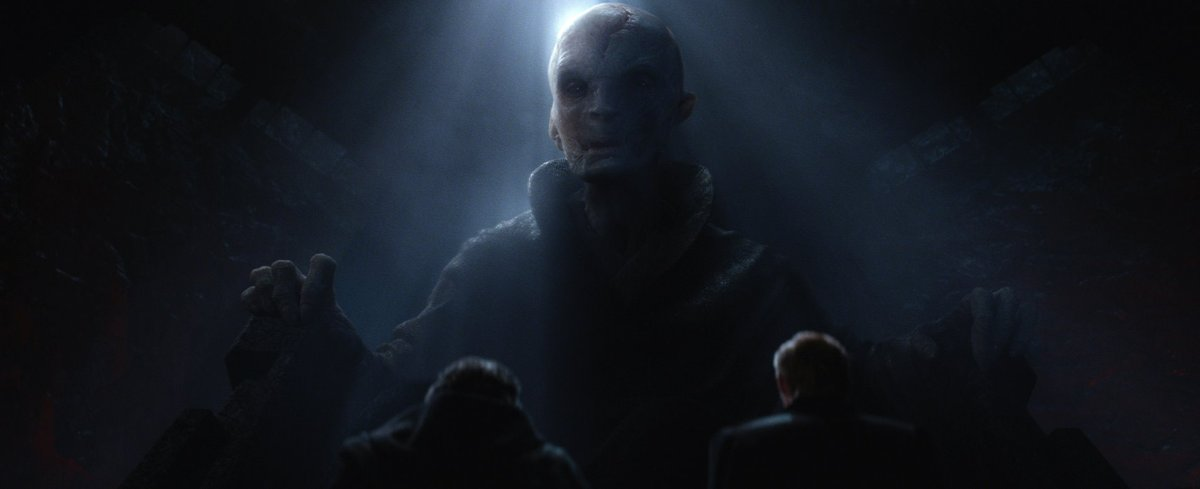 'Star Wars: The Last Jedi': Supreme Leader Snoke Close-Up Revealed in New Image