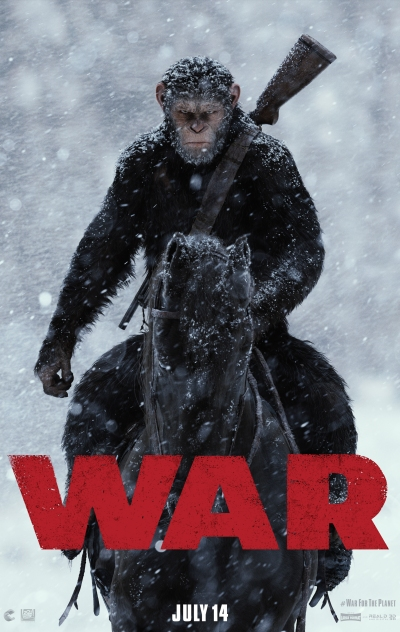 War for the Planet of the Apes Teaser Poster