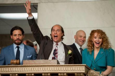 Edgar Ramirez, Matthew McConaughey, Corey Stoll & Bryce Dallas Howard in Gold