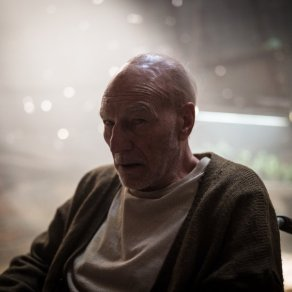 Patrick Stewart as Charles Xavier in Logan