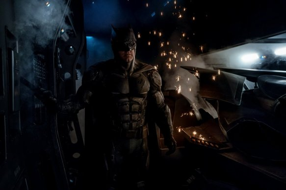 Ben Affleck as Batman in Justice Leage