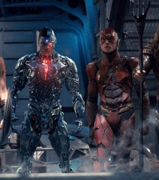 Cyborg & The Flash in Justice League