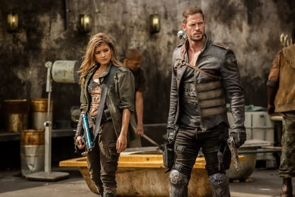 William Levy and Rola in Resident Evil: The Final Chapter