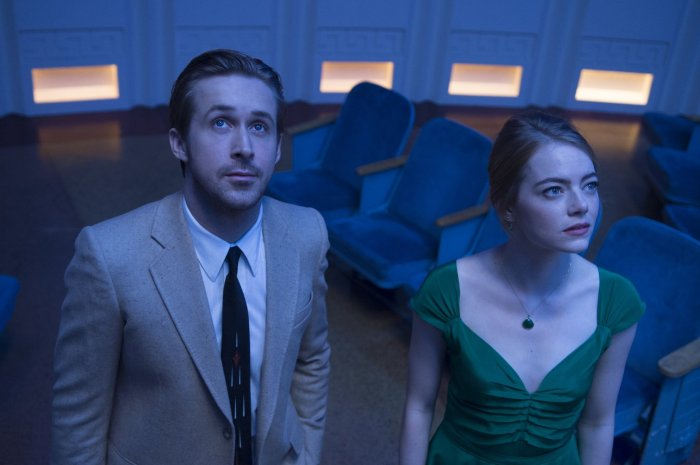 Ryan Gosling & Emma Stone in La La Land