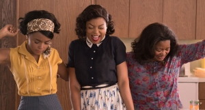 Janelle Monae, Taraji P. Henson & Octavia Spencer in Hidden Figures