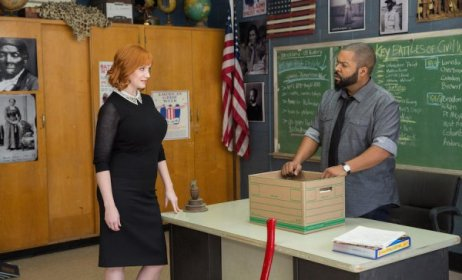 Christina Hendricks & Ice Cube in Fist Fight