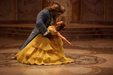 Dan Stevens & Emma Watson in Beauty and the Beast