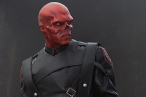 Hugo Weaving as Red Skull in Captain America: The First Avenger