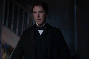 Benedict Cumberbatch as Thomas Edison in The Current War