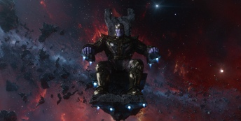 Thanos from Guardians of the Galaxy