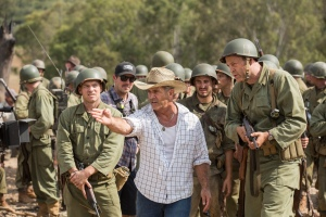 Sam Worthington, Mel Gibson & Vince Vaughn for Hacksaw Ridge