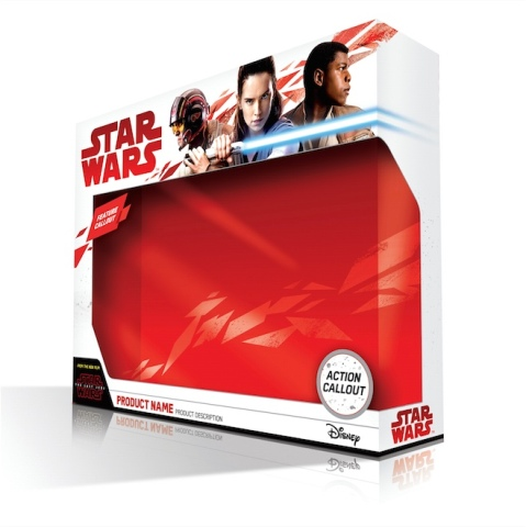 Star Wars: The Last Jedi - Force Friday II Packing
