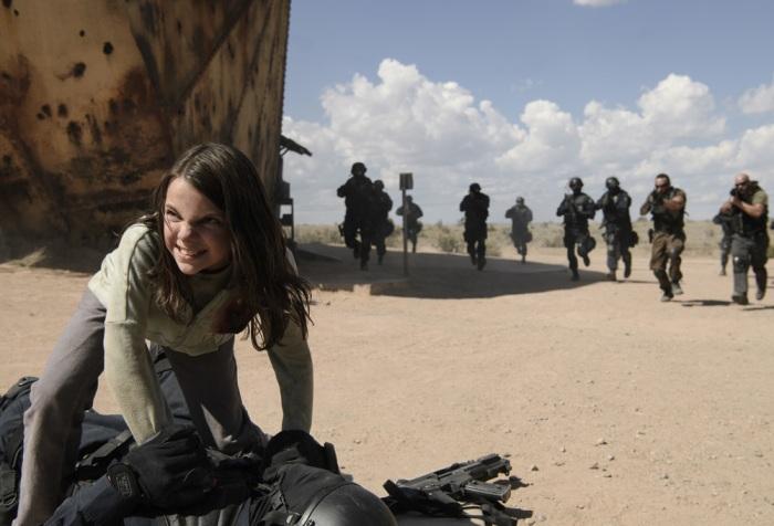 Dane Keen as X-23 in Logan