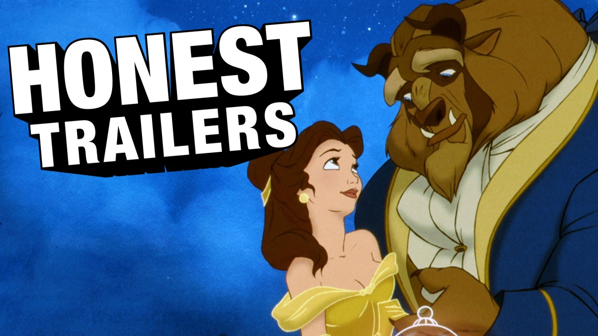watch the honest trailer for the 1991  u2018beauty and the beast u2019 before the live