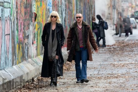 Charlize Theron & James McAvoy in Atomic Blonde