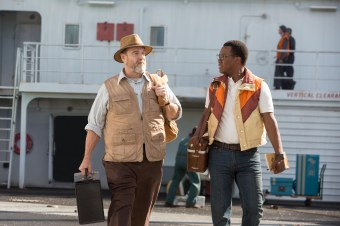 John Goodman & Corey Hawkins in Kong: Skull Island