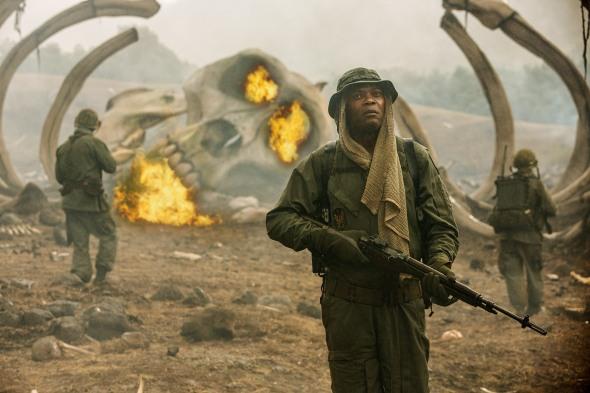 Samuel L. Jackson in Kong: Skull Island
