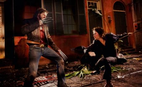 Hugh Jackman & Taylor Kitsch in X-Men Origins: Wolverine