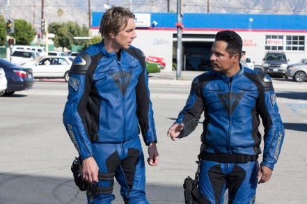 Dax Shepard & Michael Pena in CHiPs