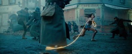 Gal Gadot as Wonder Woman in Wonder Woman